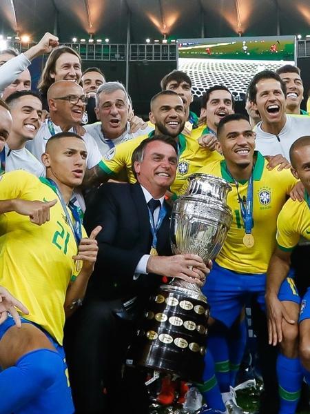 Aliados a Bolsonaro, CBF e Conmebol temem política sobre Copa América