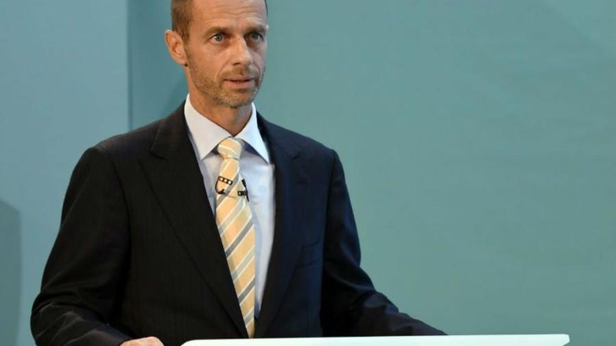 Aleksander Ceferin, presidente da Uefa - Tony OBrien/Reuetrs