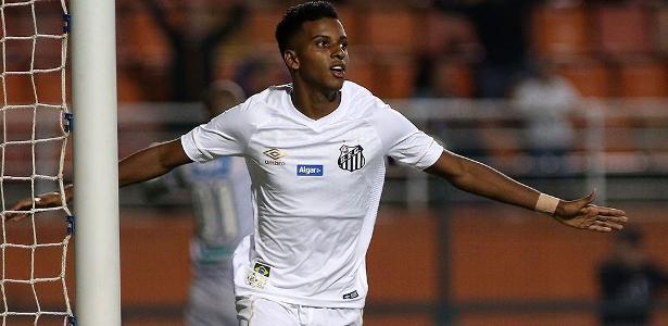 Rodrygo é bem visto na Espanha, mas tem multa de 50 milhões de euros com o Santos