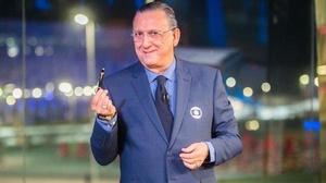 Galvão Bueno, principal nome do Esporte da Globo