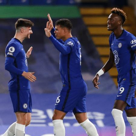 Com gol de Thiago Silva, Chelsea vence o West Ham por 3 a 0 na Premier League - GettyImages