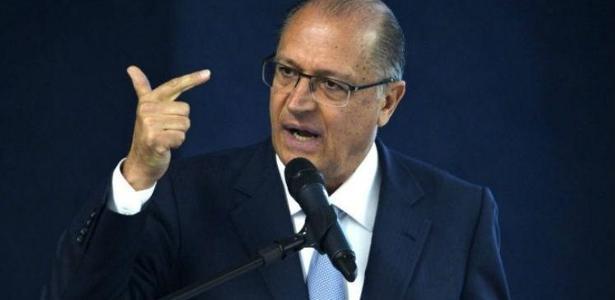 O governador Geraldo Alckmin (PSDB), responsável pela segurança no Estado de SP  - Foto: ABr