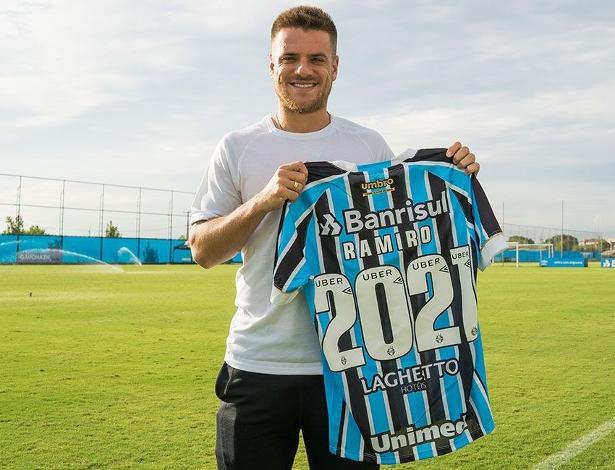 Ramiro está no Grêmio desde 2013 e virou peça-chave no time com Renato Gaúcho