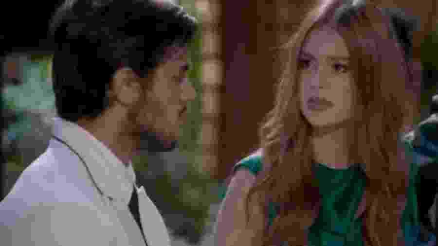 Jonatas (Felipe Simas) e Eliza (Marina Ruy Barbosa) de Totalmente Demais (Reprodução - TV Globo) - Reprodução / Internet