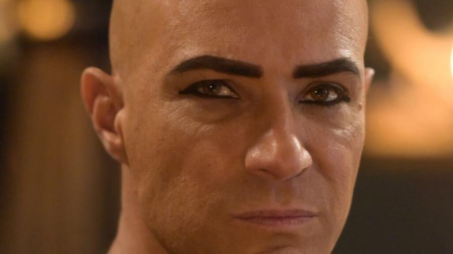Fernando Pavão é o faraó Sheshi em Gênesis (Divulgação Record TV) - Reprodução / Internet