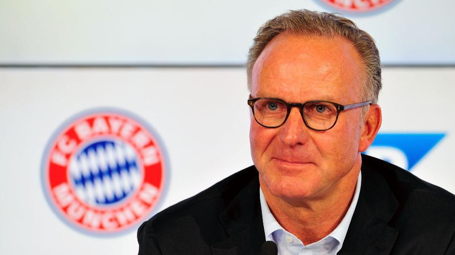 Karl-Heinz Rummenigge, do Bayern de Munique  - Lennart Preiss/Getty Images