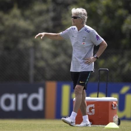 Pia Sundhage, técnica da Seleção Brasileira feminina, tem contrato até 2024 - Lucas Figueiredo/CBF