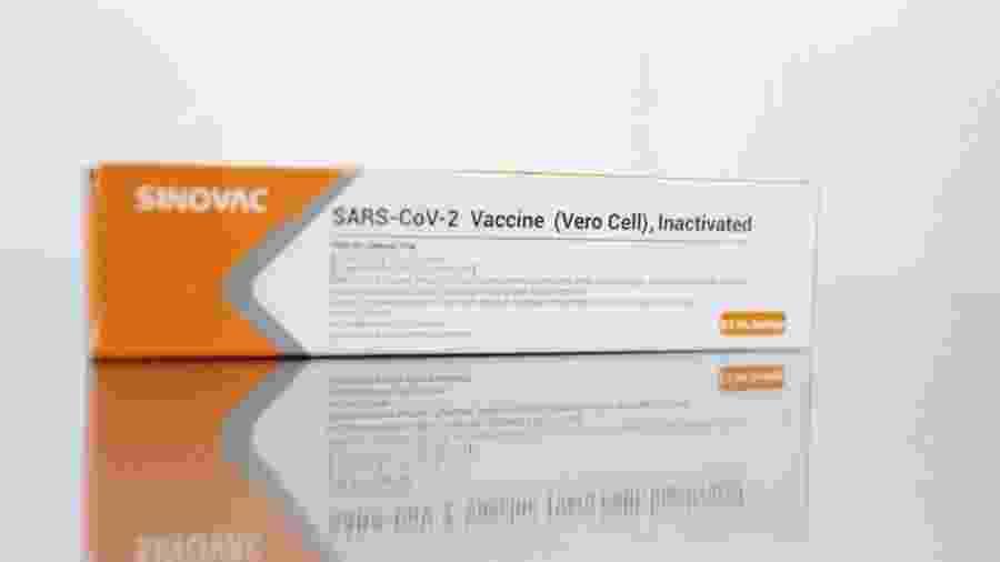 A Sinovac planeja fornecer produtos semifinalizados da vacina ao Instituto Butantan -                                 Divulgação/Governo de São Paulo
