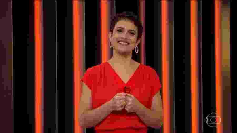 "Sandra Annenberg no ""Globo Repórter"" - Reprodução/TV Globo"
