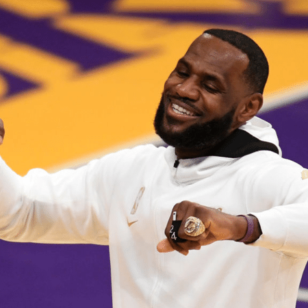 LeBron James, do Los Angeles Lakers - GettyImages