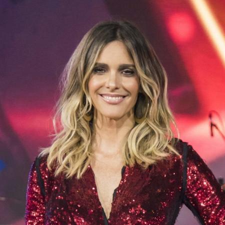 Fernanda Lima nos bastidores da Globo (Divulgação) - Reprodução / Internet