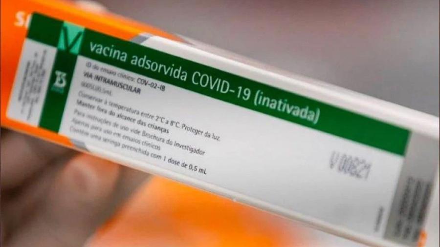 Coronavac: 2,7 milhões de doses serão distribuídas no começo de março - Reprodução