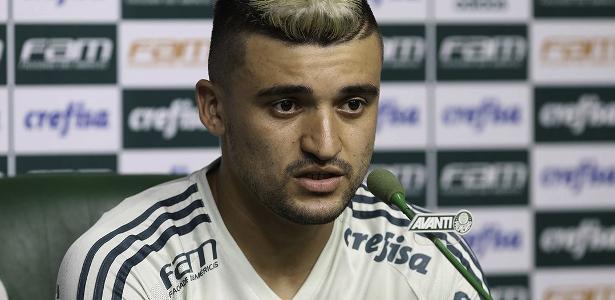 Victor Luis iniciou a discussão de um novo contrato com a diretoria do Palmeiras - Cesar Greco/Fotoarena/Estadão Conteúdo