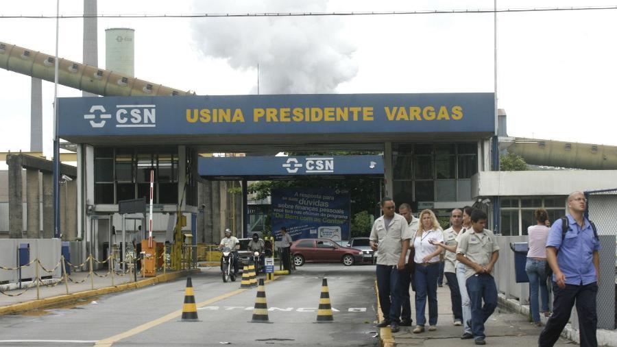CSN diz que vai aumentar preços de aço em março e vê necessidade de novo reajuste no 2º tri - Fernando Soutello/Reuters