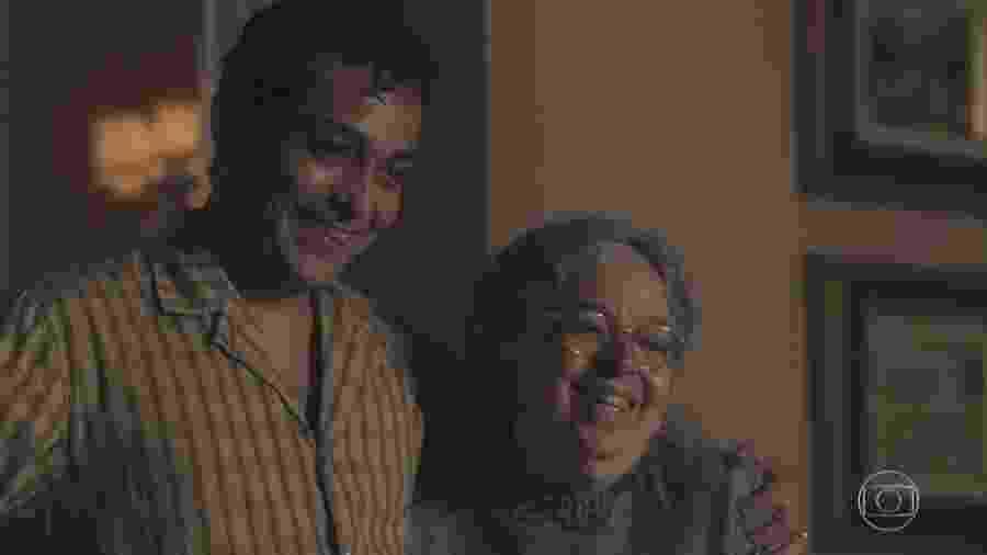 Zeca (Eduardo Sterblich) e Candoca (Camila Amado) em Éramos Seis (Reprodução) - Zeca (Eduardo Sterblich) e Candoca (Camila Amado) em Éramos Seis (Reprodução)
