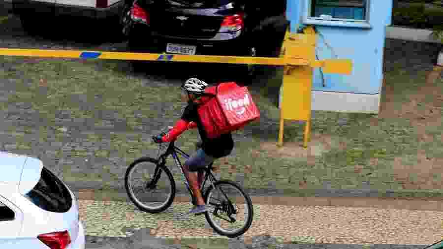 Ciclistas que usam a bike para fazer entregas vão ganhar direitos nos próximos meses -