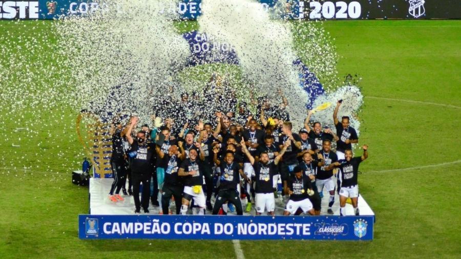 Ceará se sagrou campeão da Copa do Nordeste 2020: competição terá pay-per-view da operadora Sky                       - JHONY PINHO/ESTADãO CONTEúDO