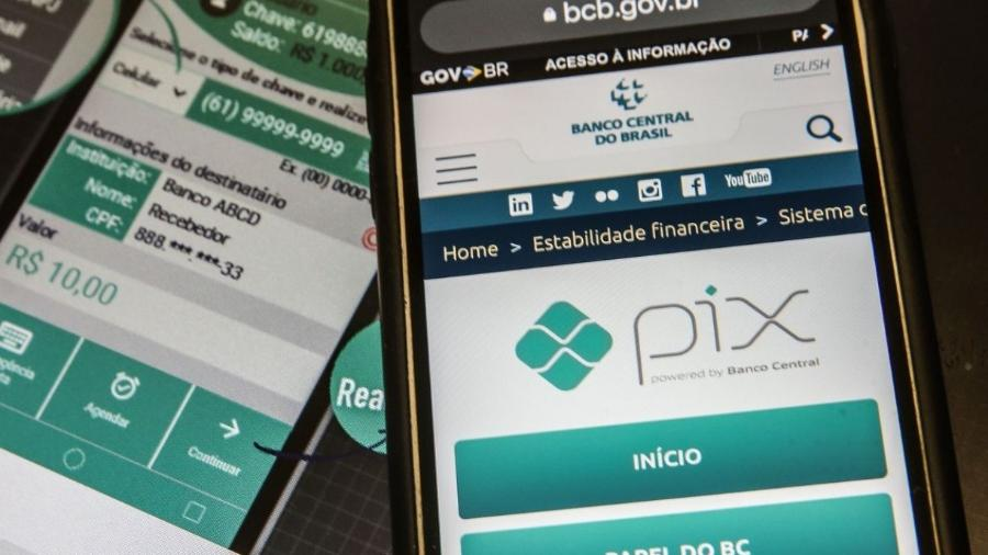 Pix é o sistema de pagamentos instantâneos brasileiro                              -                                 Marcello Casal JrAgência Brasil