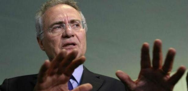 O senador Renan Calheiros gravou vídeo para as redes sociais