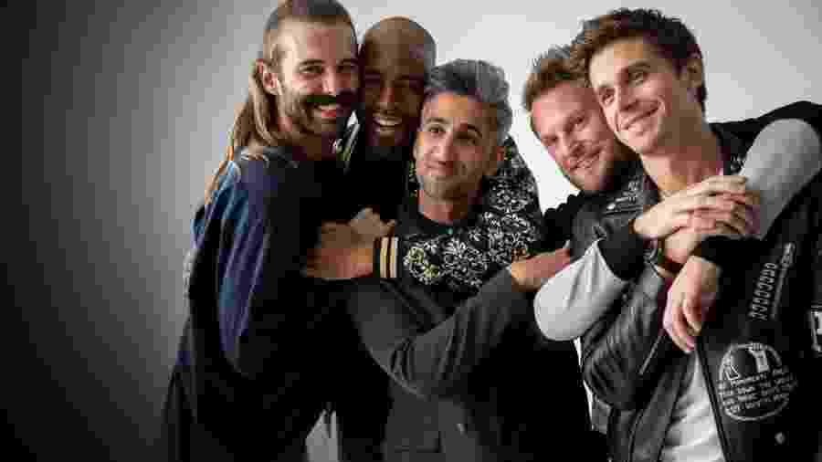 Queer Eye mostra amigos gays mudando vidas em reality - Reprodução / Internet