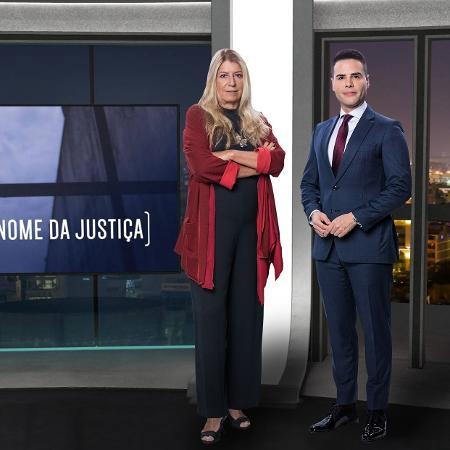"""Ilana Casoy e Luiz Bacci comandam a série """"Em Nome da Justiça""""  - Antonio Chahestian/Divulgação Record TV"""