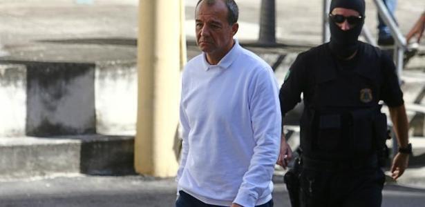 A defesa do ex-governador Sérgio Cabral tenta sua transferência para a cadeia de Benfica