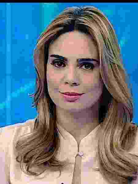"""Rachel Sheherazade se afasta da apresentação do """"SBT Brasil"""" - Rachel Sheherazade (Divulgação/SBT)"""