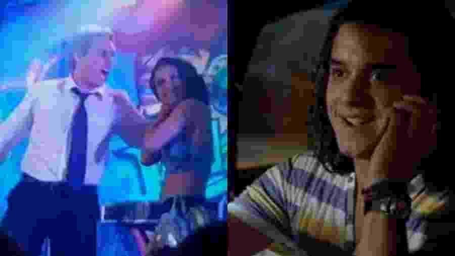 Baltazar (Alexandre Nero), Solange (Carol Macedo) e Daniel (Guilherme Boury) de Fina Estampa (Reprodução - TV Globo)  - Reprodução / Internet