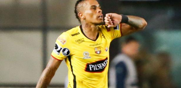Jonathan Álvez, do Barcelona de Guayaquil, foi descartado pela direção do Grêmio