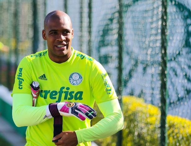 Jailson volta ao time titular do Palmeiras com a suspensão de Fernando Prass - Marcello Fim/Raw Image/Estadão Conteúdo
