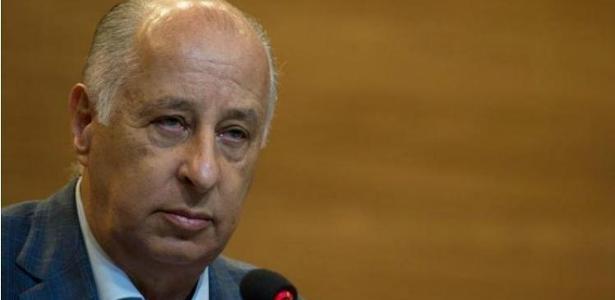 Del Nero também terá de pagar multa de 1 milhão de francos suícos (R$ 3,5 milhões)