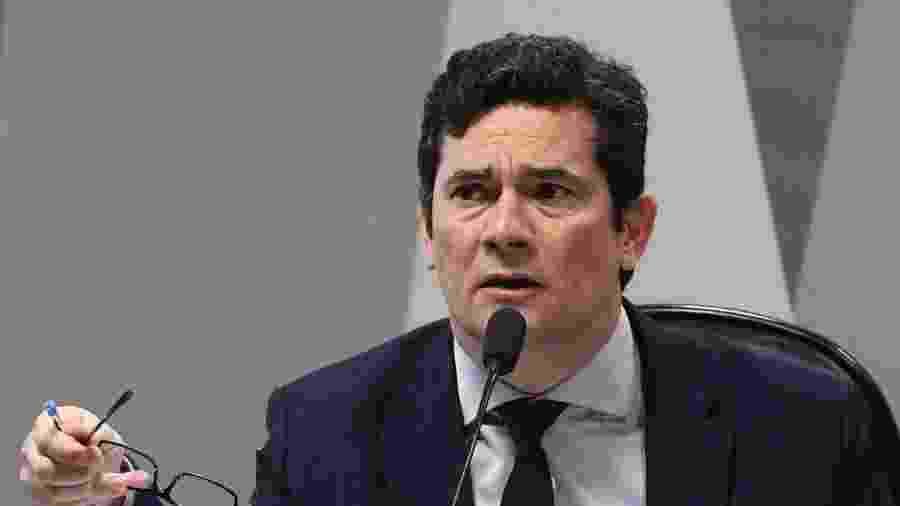 Sergio Moro, ex-ministro da Justiça do governo Bolsonaro - MARCOS OLIVEIRA / AGêNCIA SENADO