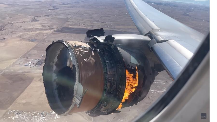 Autoridade de aviação dos EUA investiga incidente com Boeing 777 - Reprodução