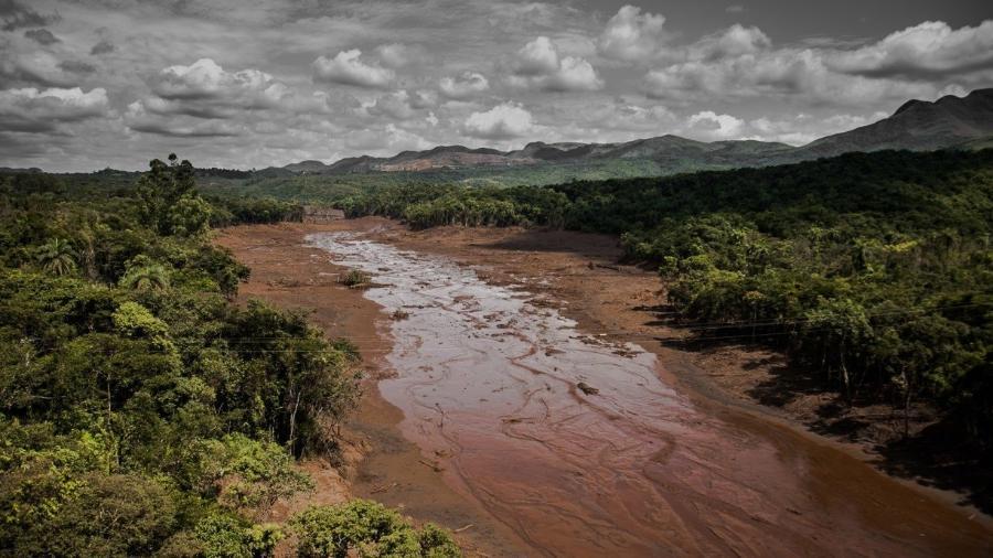 Rompimento da barragem em Brumadinho, Minas Gerais, aconteceu em 2019                              -                                 ISIS MEDEIROS