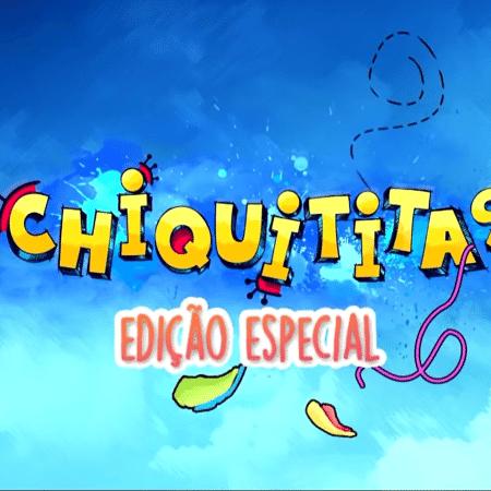 Logo da edição especial de Chiquititas no SBT (Reprodução / YouTube) - Reprodução / Internet
