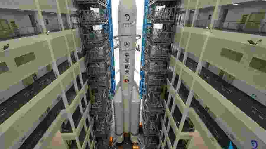 "Sonda chinesa Chang""e 5 pousa na Lua com sucesso - CLEP"