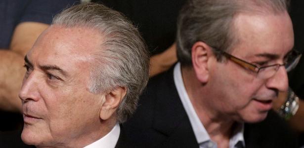 "Temer reclama das perguntas da defesa de Cunha: ""Eduardo tentou me fustigar"" - Ueslei Marcelino/Reuters"