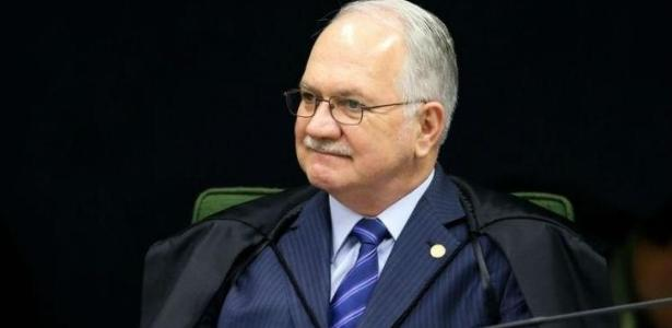 O ministro Edson Fachin, do Supremo Tribunal Federal
