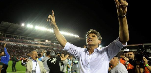 Renato Gaúcho entrou para a história do Grêmio como jogador e treinador