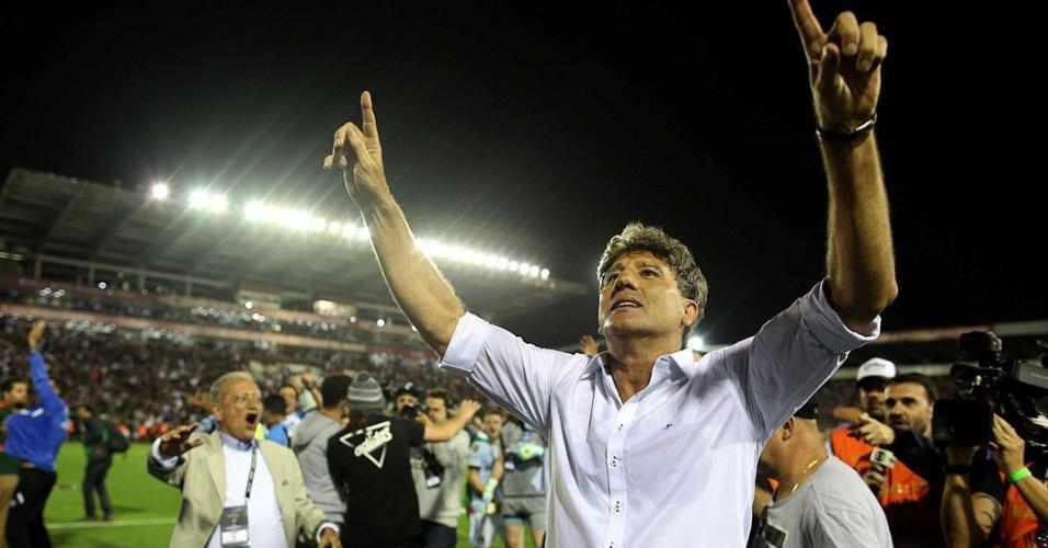 Só uma estátua vai ser pouco | Herói de 83, Renato Gaúcho leva o Grêmio em busca do bi no Mundial