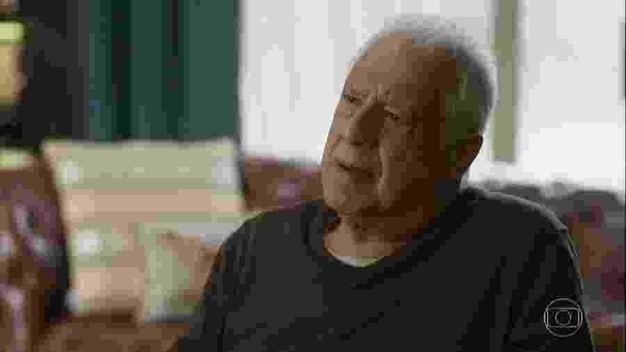 Alberto (Antônio Fagundes) em Bom Sucesso (Reprodução/TV Globo). - Alberto (Antônio Fagundes) em Bom Sucesso (Reprodução/TV Globo).