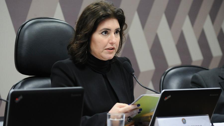 Simone Tebet, presidente da CC. Foto: Rodrigues / Agência Senado