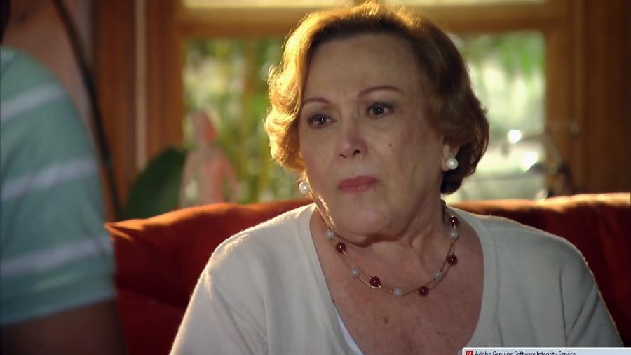 Iná (Nicette Bruno) na novela A Vida da Gente (Reprodução / Globo) - Reprodução / Internet