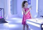 Ester é uma androide projetada por Pendleton em As Aventuras de Poliana (Reprodução: SBT)