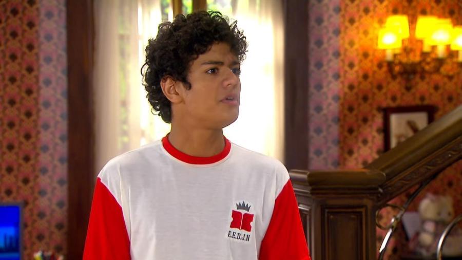 Mosca (Gabriel Santana) em Chiquititas (Reprodução / SBT) - Reprodução / Internet