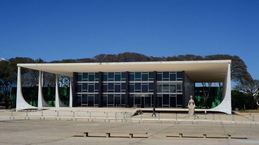 Edifício sede do Supremo Tribunal Federal - STF                              -                                 Marcello Casal JrAgência Brasil