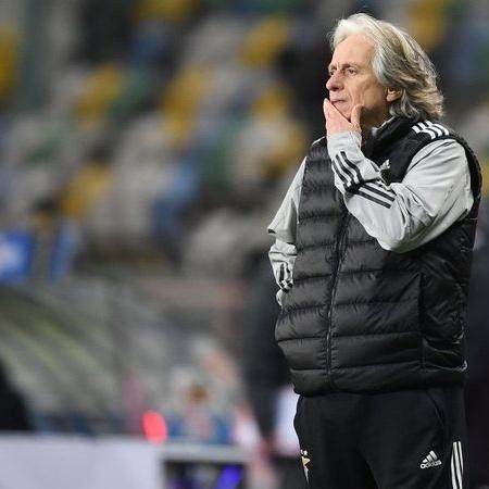 Jorge Jesus mostra insatisfação com campanha do Benfica - GettyImages