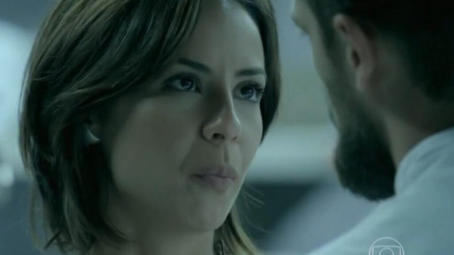 Maria Clara (Andréia Horta) e Vicente (Rafael Cardoso) em Império (Reprodução/TV Globo). - Reprodução / Internet