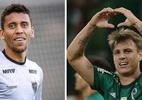 Foto: Bruno Cantini/Atlético-MG e Cesar Greco/Ag. Palmeiras