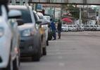 Poucos postos vendendo gasolina na tarde deste domingo - Foto: Alexandre Gondim/JC Imagem